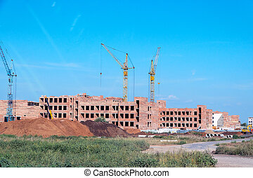 Construction of a new residential complex