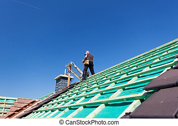 Construction of a new roof