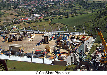 Construction of a Viaduct