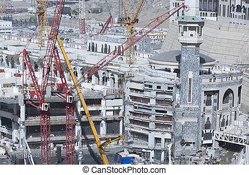 Construction of Al-Masjid Al-Haram Around Al Kaaba
