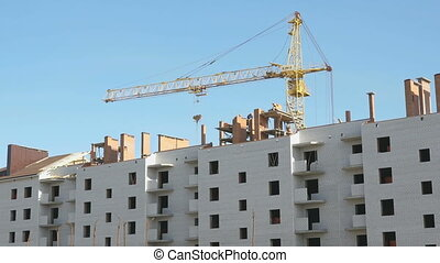 Construction of an apartment residential building