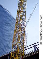 construction of big building