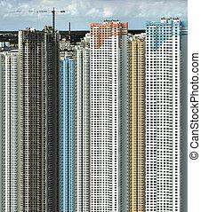construction of big buildings