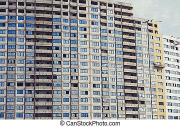 high-rise residential buildings