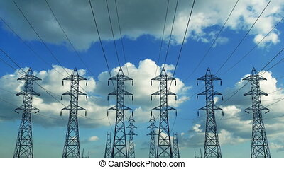 Construction of high voltage towers