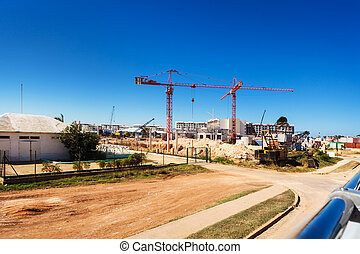 construction of hotels