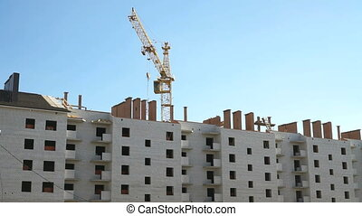 Construction of multi-storey brick complex