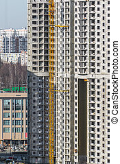 Construction of multi-storey residential house