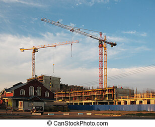 Construction of multistorey buildi