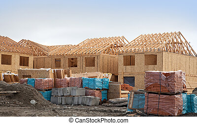 Construction of new homes