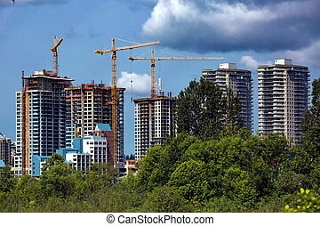 Construction of new Residential Area