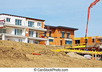 construction of new single-family homes
