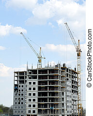 Construction of office building