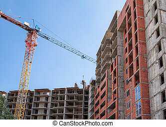 construction of residential building