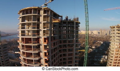 Construction of residential complex