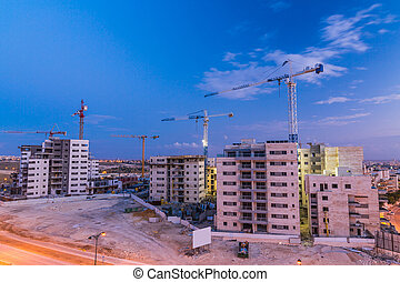 construction of the city