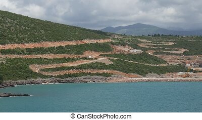 Construction of the elite areas of Montenegro with its own...
