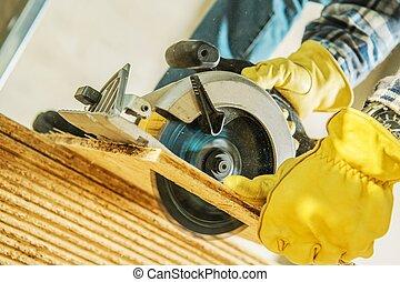 construction, outils, site
