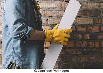 construction, ouvrier