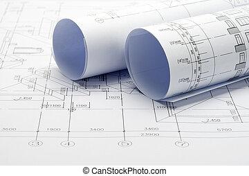 Construction plan blueprints construction plan blueprint stock construction plan blueprints malvernweather Choice Image