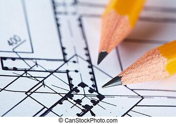 construction, plan