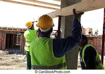 construction poloha