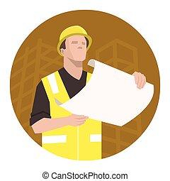 Construction project plan