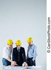 construction, réunion