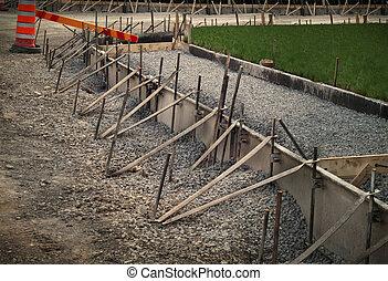 construction, route