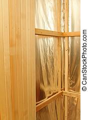 construction, sauna