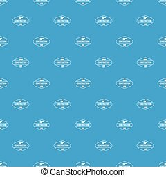 Construction service pattern vector seamless blue