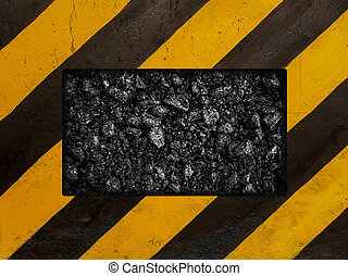 Construction sign background