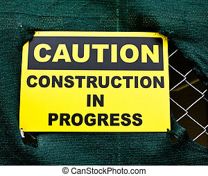 construction, signe prudence