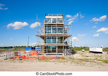 Construction site - A construction site in Zeeburg,...