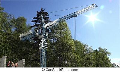Construction site concept