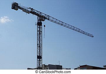 Construction site - crane