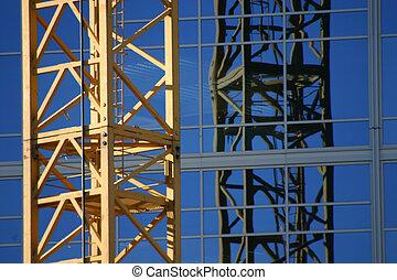 Construction site Crane