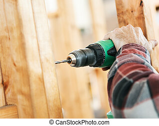 Construction Site - Drilling