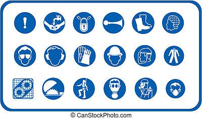 Construction site equipment - Different construction site...