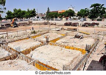 Construction site - Foundation