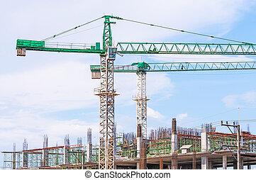 construction, site.