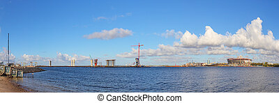 construction site in Sankt-Peterburg - construction site of ...