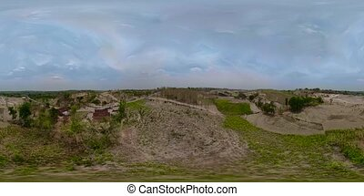 Construction site in the mountainside vr360 - vr360...