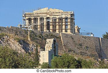 Construction Site Parthenon