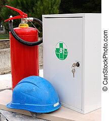 Construction site - safety equipmen
