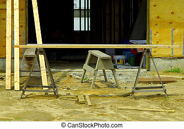 Construction Site - Photo of a Construction