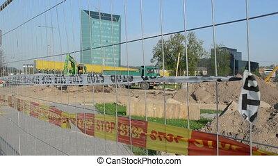 construction site stop