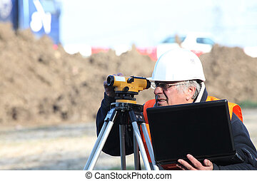 Construction site surveyor
