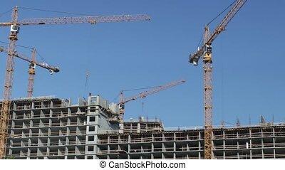 construction site time lapse
