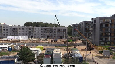 construction site works - Intensive construction site works....